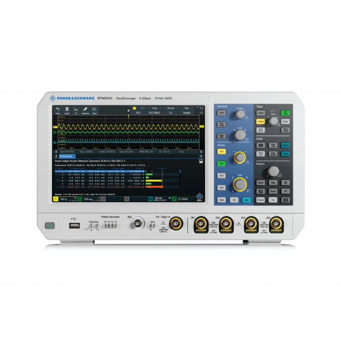 R&S®RTM3000Oscilloscope